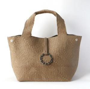 プラチナム  Cotton Yarn Tote Grossa Camel 【限定1点】